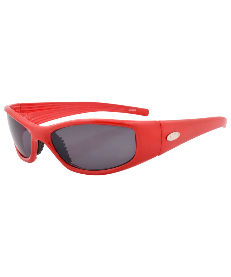 urgent red sunglasses