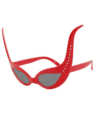 ursula red sd sunglasses