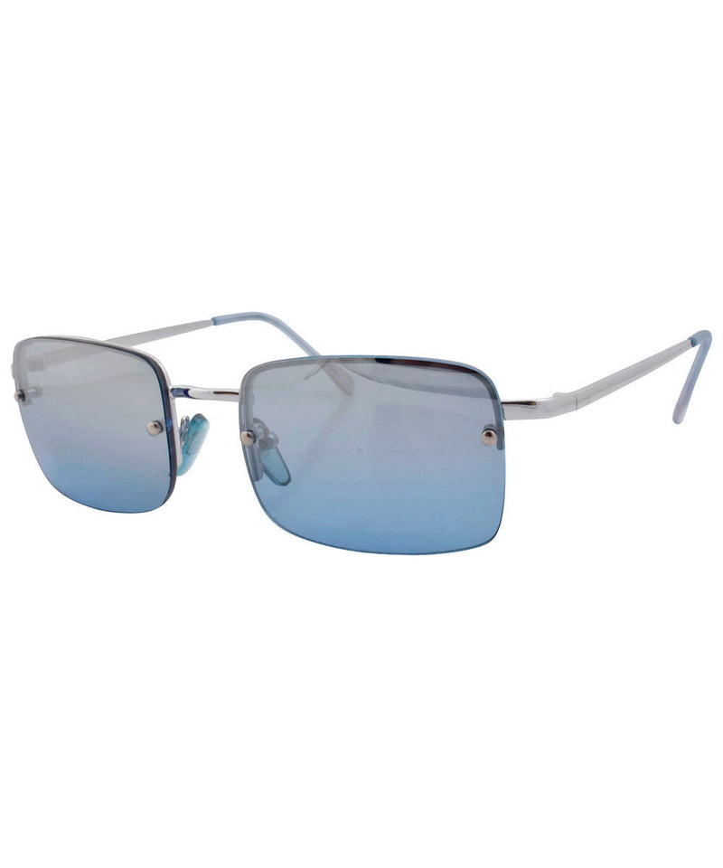 UTAH Midnight Blue Rimless Sunglasses