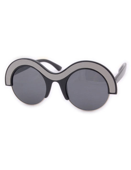 utopia black smoke sunglasses