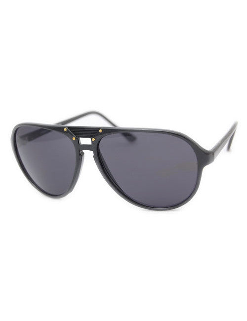 the valley black sunglasses