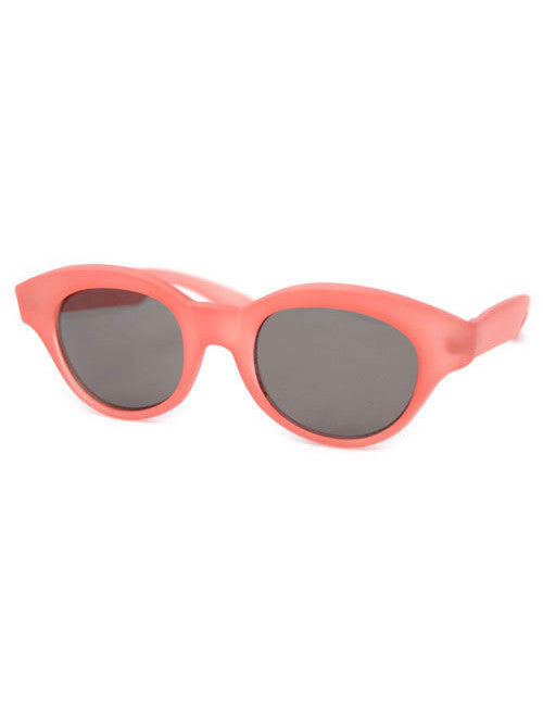 venus frosted red sunglasses