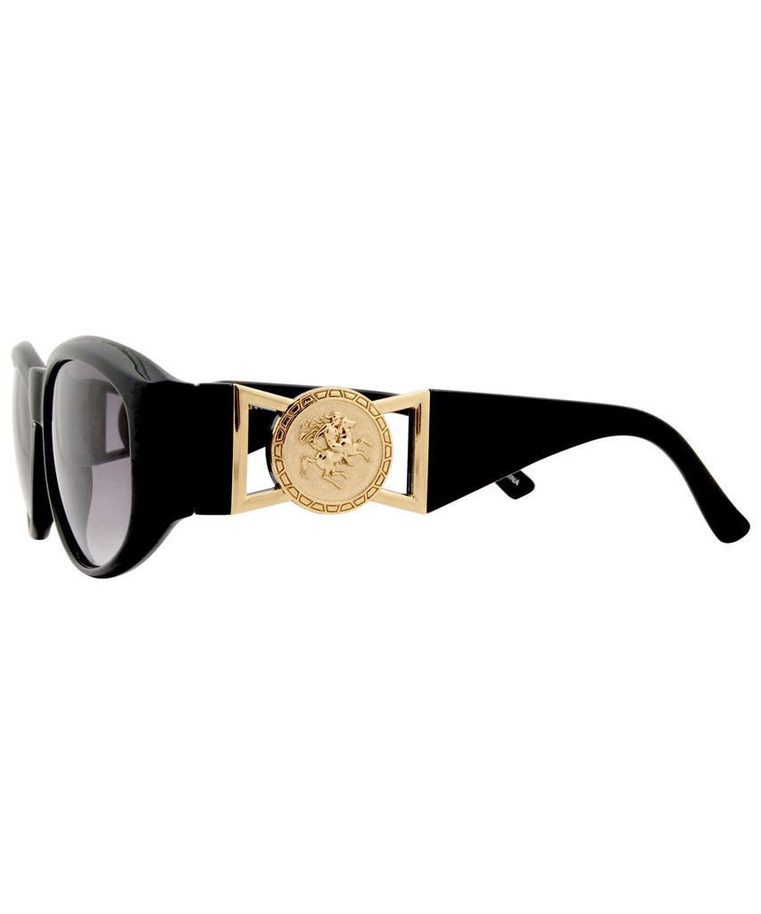 VERITAS Black Hip-Hop Indie Sunglasses