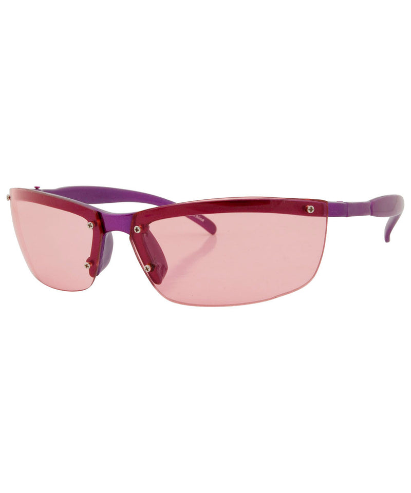 vibrate purple sunglasses