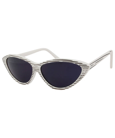 videodrome white sunglasses