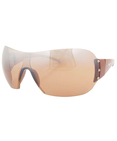 vip brown tan sunglasses
