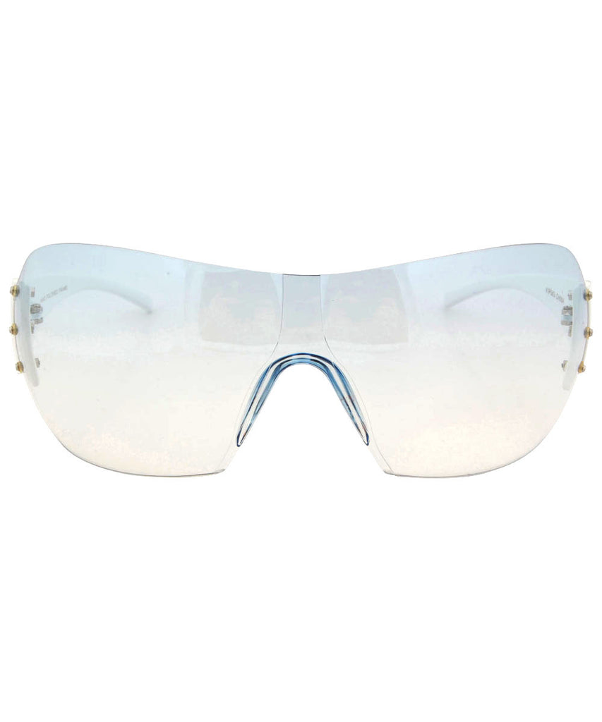 vip white blue sunglasses