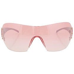 vip white pink sunglasses
