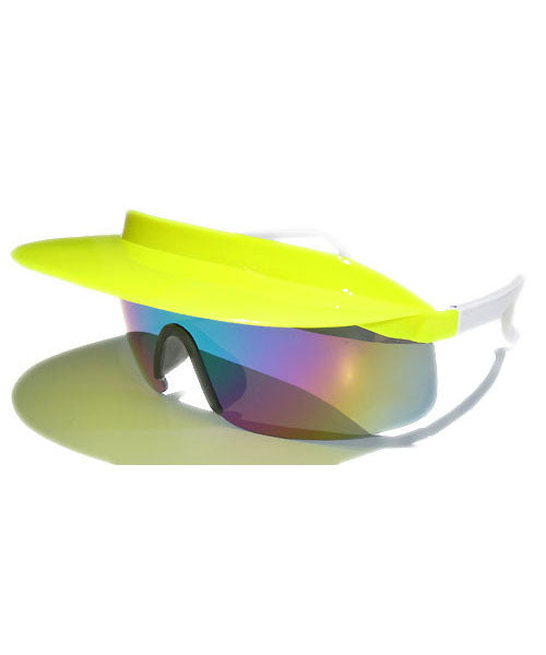 visor xl yellow sunglasses
