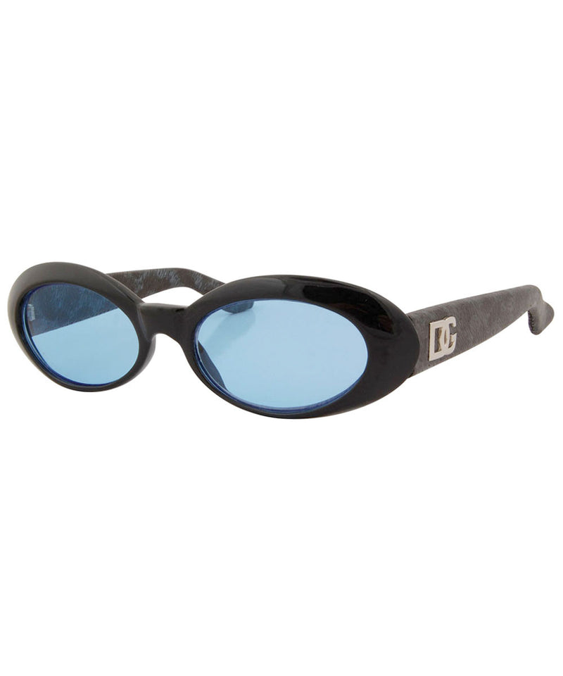 viva black blue sunglasses