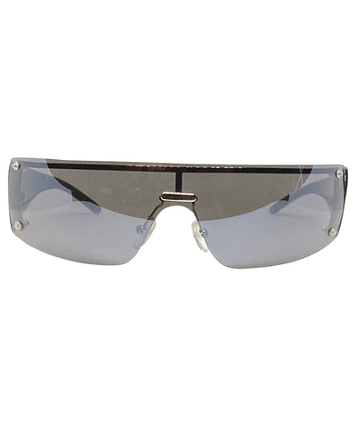 VIZION Silver Shield Sunnies