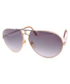 volume gold gray sunglasses