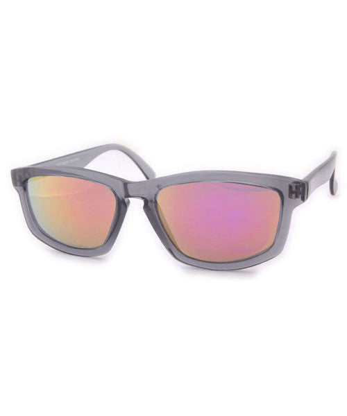 wax gray rose sunglasses