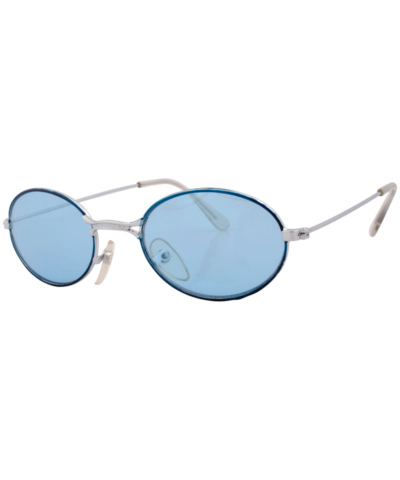 weenie blue silver sunglasses
