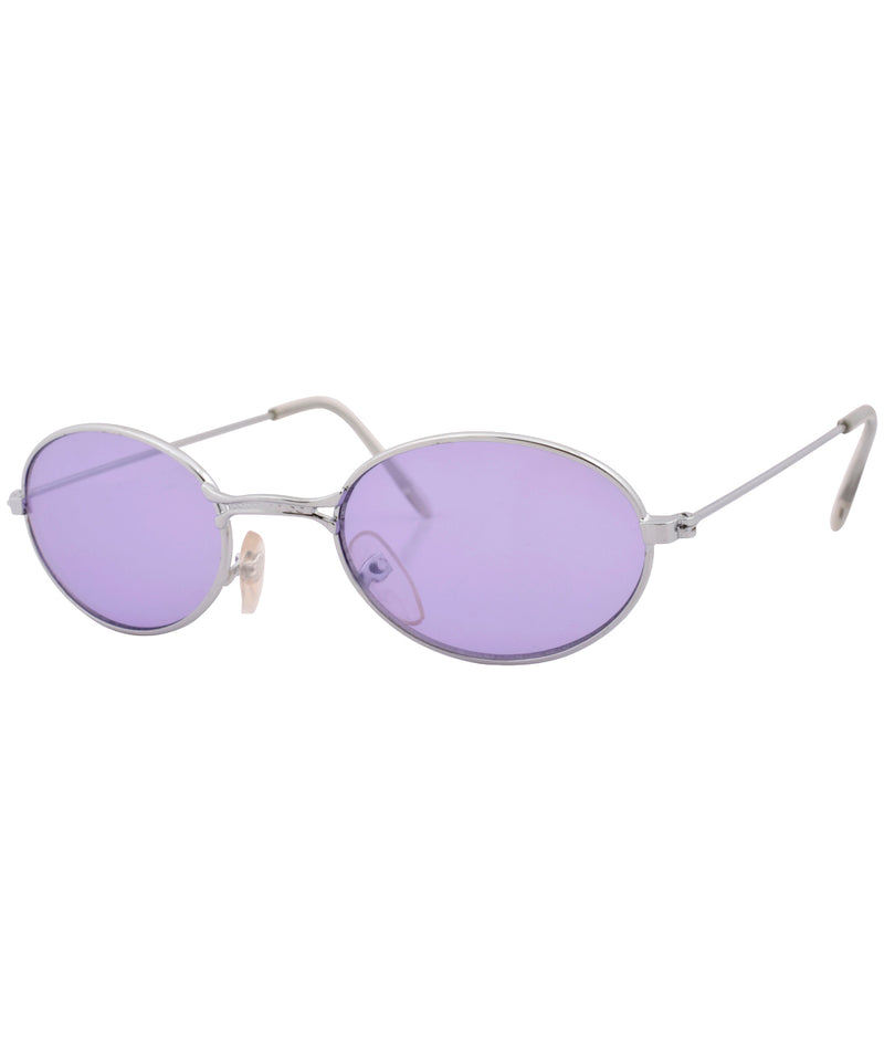 weenie purple silver sunglasses