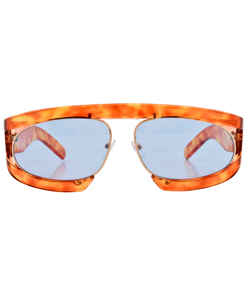 WEEZIE Demi/Blue Fashion-Forward Sunglasses