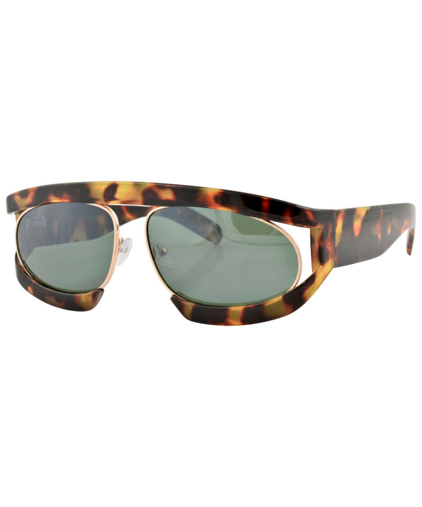 WEEZIE Tortoise Fashion-Forward Sunglasses