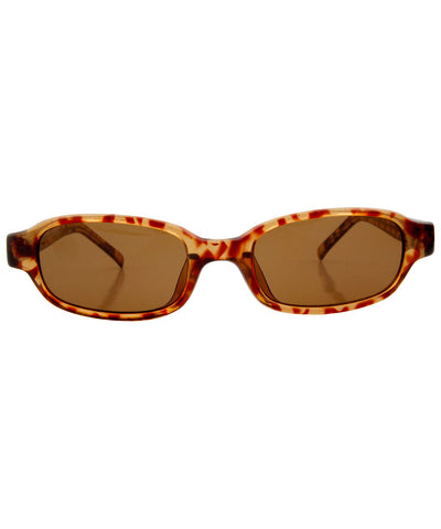 weld demi brown sunglasses