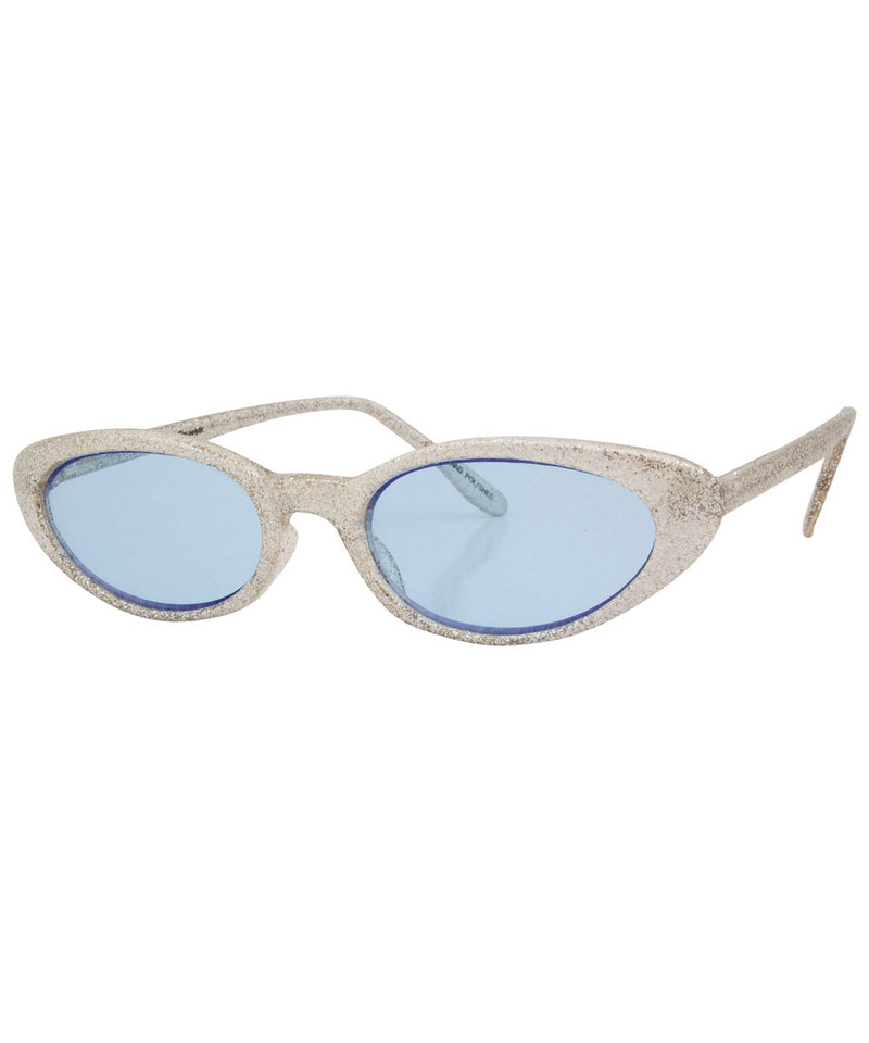 what silver blue sunglasses