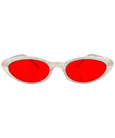 what silver red sunglasses