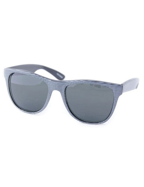 wicked black white sunglasses