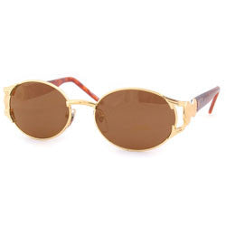 wicklow gold amber sunglasses