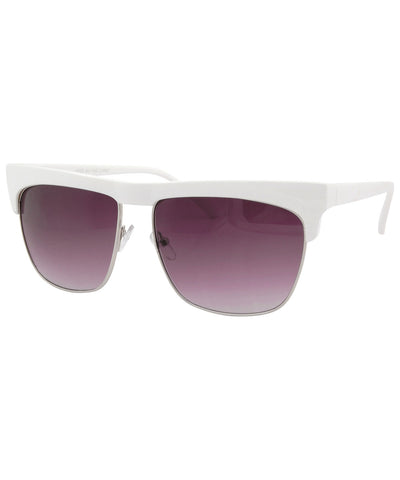 wick white sunglasses