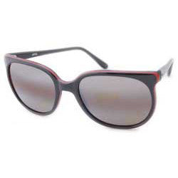 widow black red sunglasses