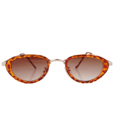 wilde tortoise gold sunglasses