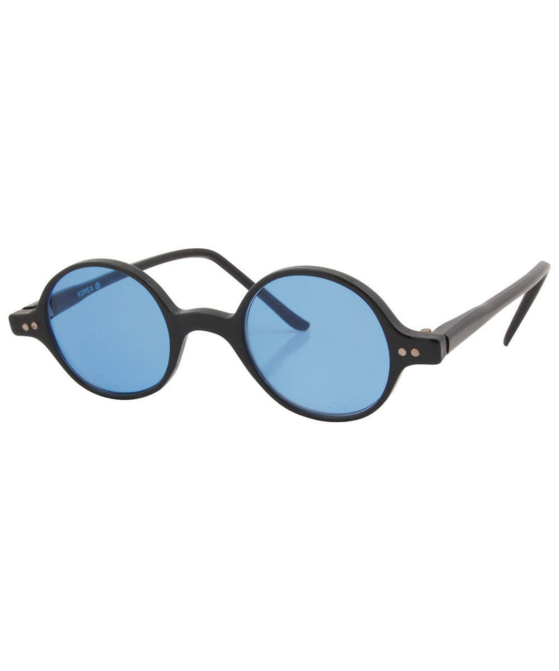 will black blue sunglasses