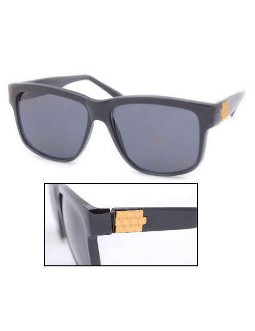 wilshire black sunglasses