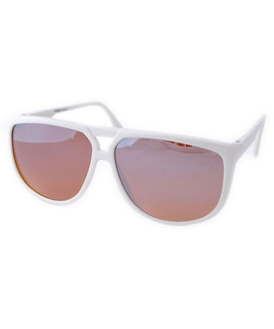 winkler white sunglasses