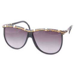wishes black gold sunglasses