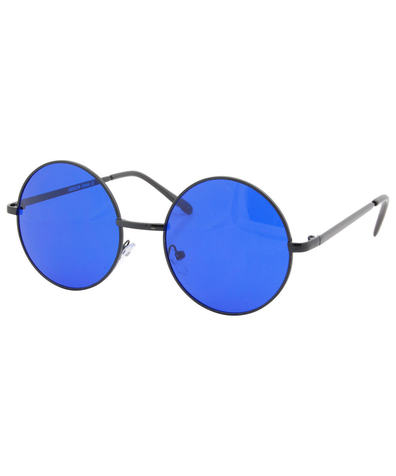 wonderland blue black sunglasses