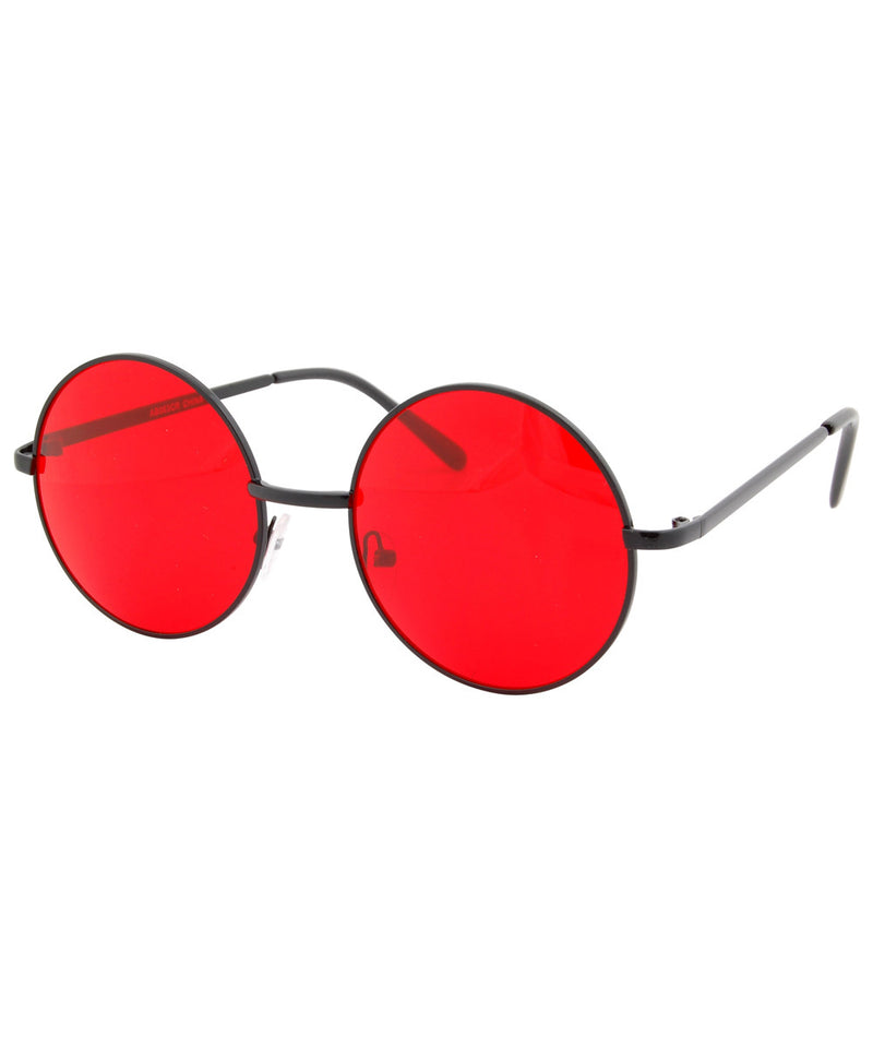 wonderland red black sunglasses