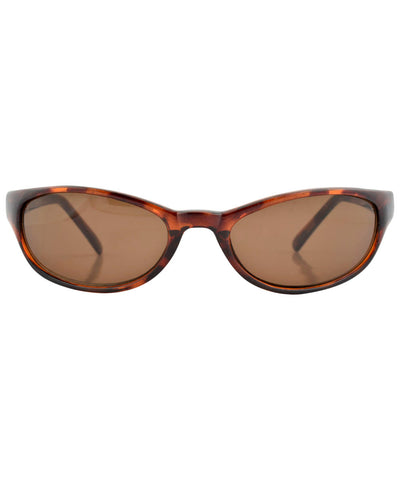 wrapped tortoise brown sunglasses