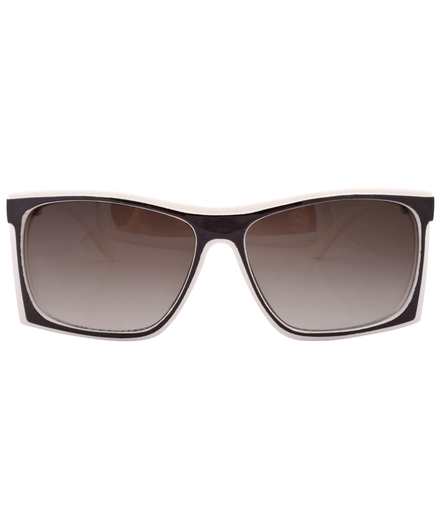 x ray white black sunglasses