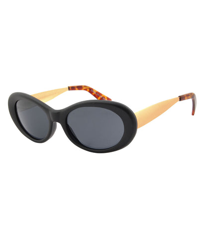 youth black sunglasses