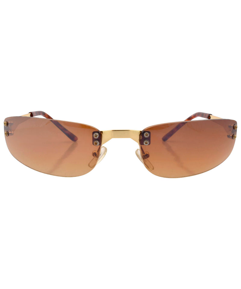 yowza brown sunglasses