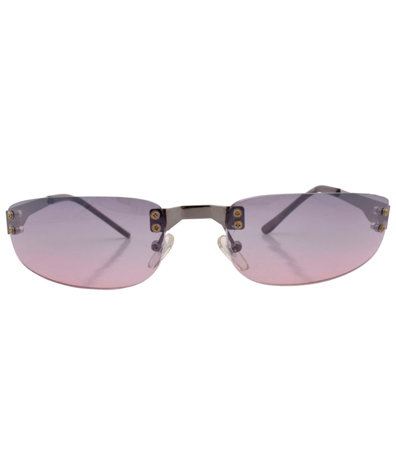 yowza smoke pink sunglasses