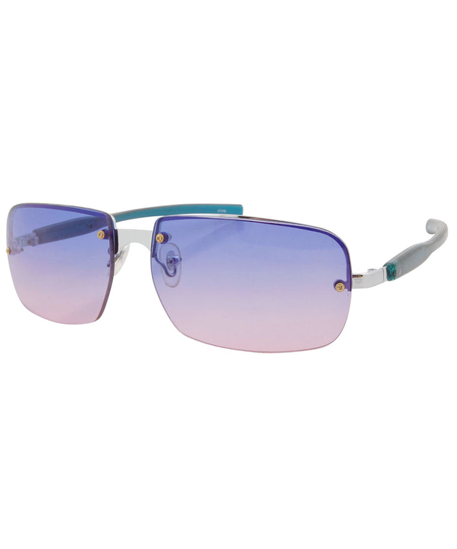 yumch blue pink sunglasses