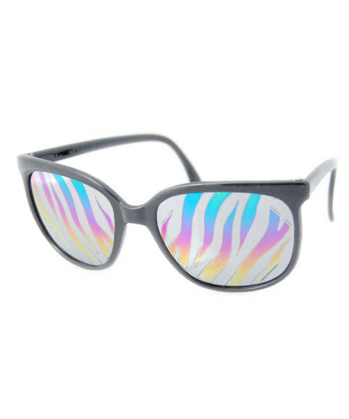 zebra nc black sunglasses