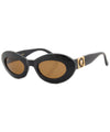zeus black brown sunglasses