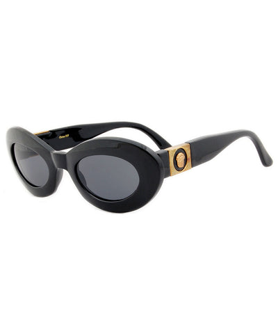 zeus black smoke sunglasses