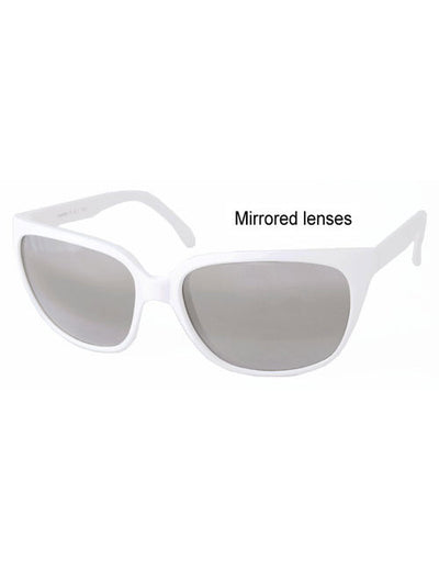 zogs white sunglasses