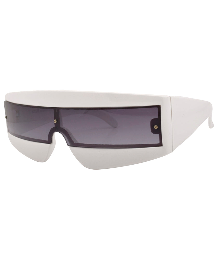 zolar white sunglasses