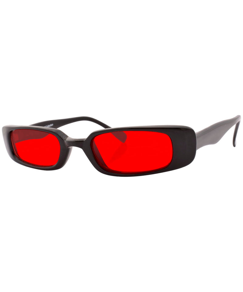 zotz black red sunglasses