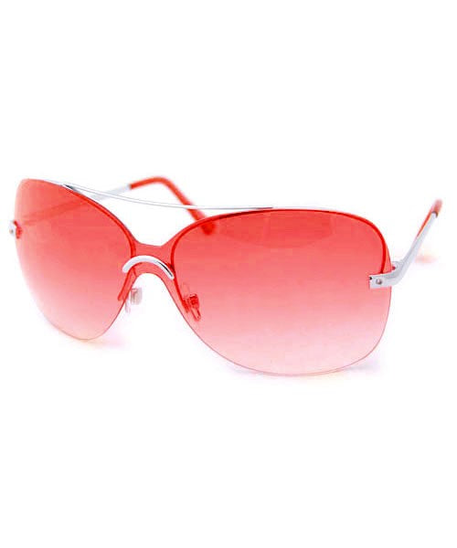 ARCO IRIS Red Rimless Sunglasses