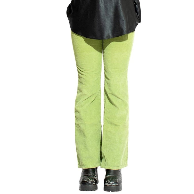 Totally Green Corduroy Low Rise Jeans