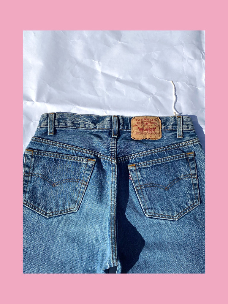 Authentic Knotted LEVI'S Jeans